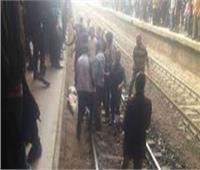 مصرع شخص صدمه قطار بسوهاج