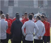 مران الأهلي| موسيماني يعقد محاضرة فنية للاعبين
