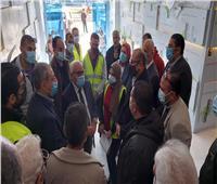 محافظ بورسعيد يتابع مستجدات العمل في مشروع «مولالفرما»