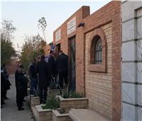 انتهاء مراسم دفن فريق فخري كمال عامر رئيس لجنة «الأمن القومي»
