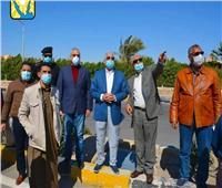 «فودة» يتفقد المشروعات المقرر افتتاحها في العيد القومي لـ«جنوب سيناء»| صور