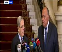 وزير الخارجية التونسي: أمن مصر من الأمن القومي التونسي