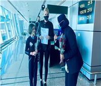 مطار الغردقة يستقبل أولى رحلات شركة الطيران اللتوانية.. صور