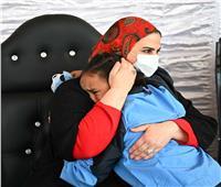 من هي «حنين» الطفلة التي احتضنتها وزيرة التضامن الاجتماعي؟