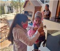 استمرار حملة تطعيم شلل الأطفال بمدن وقرى الأقصر