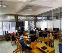 جامعة حلوان: «تمريض»أولى الكليات تطبيقًا للاختبارات الإلكترونية
