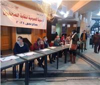 بدء تسجيل الحضور لأعضاء الجمعية العمومية لانتخابات نقابة الصحفيين