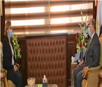 شعراوي يبحث مع مسئولي برنامج الأمم المتحدة الإنمائي مجالات التعاون المشتركة
