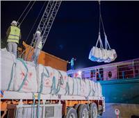 المنطقة الاقتصادية: تصدير 6 آلاف طن أسمنت من ميناء العريش للمغرب