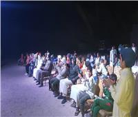 بدء فعاليات المسرح المتنقل بوادي مندر بجنوب سيناء| صور