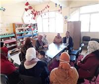 قوافل دمياط الثقافية تواصل أنشطتها بقرية «السنانية»