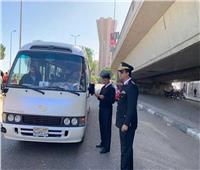 تحرير 5594 مخالفة مرورية على الطرق السريعة
