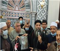 وفد قبطي يشارك في افتتاح مسجد بإسنا | صور