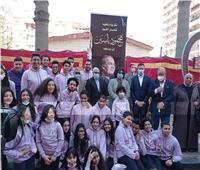 وزيرة الثقافة ومحافظ بورسعيد يفتتحان شارع الفنان الراحل محمود ياسين