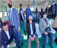 جولة لوزيرة الثقافة ومحافظ بورسعيد وهاني شاكر في بورفواد