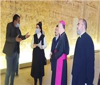 بطرس: زيارة سفير الفاتيكان للمنيا تروج لتنشيط السياحة المصرية