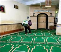 حملة لتعقيم المساجد بمحافظة المنوفية