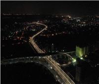محور الحضارات يتألق وسط القاهرة |صور