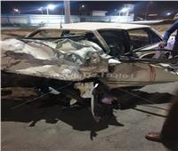 إصابة 7 في حادث تصادم سيارتين ملاكي وميكروباص في السويس
