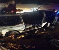 ننشر أسماء ضحايا حادث بني سويف..صور