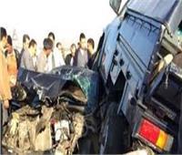 حوادث المنيا في أسبوع | إنقاذ ركاب سيارة ملاكي من الموت.. الأبرز
