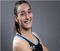 سمر حمزة تتوج بفضية بطولة التصنيف العالمي للمصارعة في روما