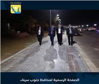 محافظ جنوب سيناء يتفقد الممشي السياحي بهضبة أم السيد ..صور