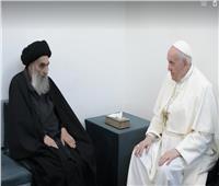مكتب السيستاني: لقاء المرجع الشيعي مع البابا أكد على قيم التعايش السلمي