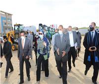 وزيرة البيئة تشهد اصطفاف معدات منظومة النظافة بالعاصمة الإدارية الجديدة