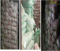 الاستيلاء على 1.4 مليون جنيه من منظومة الخبز وضبط 9٫5 طن أغذية فاسدة