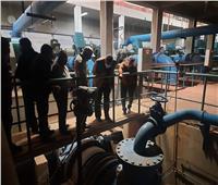 رئيس جهاز ٦ أكتوبر يتفقد محطة تنقية مياه الشرب التي تخدم المدينة