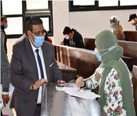 الهدوء والتزام يسود الأجواء في اللجان الامتحانية بجامعة القناة