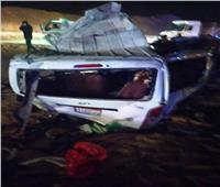 النيابة تباشر التحقيق مع السائق المتسبب في حادث طريق الكريمات