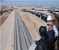 وزير النقل: تنفيذ 79% من أعمالالقطار الكهربائي.. صور