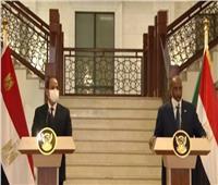 البرهان: مصر هي السند الحقيقي للسودان.. فيديو