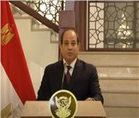 السيسي: مصر والسودان أمنهما القومي واحد.. فيديو