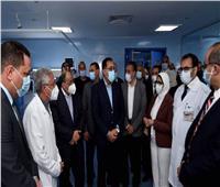 مدبولى يتفقد الأعمال الإنشائية بمستشفى شبين الكوم التعليمي