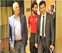 وزير الرياضة يؤازر أبو ريده في انتخابات الفيفا