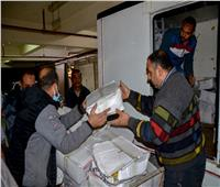 توزيع ٥٠٠ شنطة مواد غذائية للأسر الأكثر احتياجا بمنطقة الفلكي بالإسكندرية