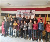 اختيار 12 ملاكما ناشئا لمشروع البطل الأولمبي بجنوب سيناء
