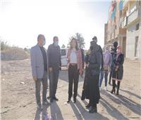 محافظ دمياط تبحث مخطط ربط مدخل قرية السيالة بالطريق الدولى