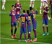 «ميسي وجريزمان» في هجوم برشلونة أمام أوساسونا في «الليجا الإسبانية»