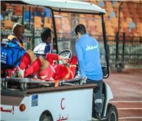 محمود وحيد يجري فحصا طبيا بعد إصابته في العضلة الخلفية