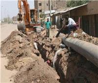 «كوم أبو خلاد» أول قرية تتسلم أرض مشروع الصرف الصحى ببنى سويف