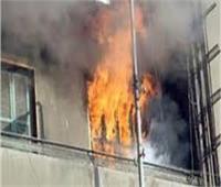 ماس كهربائي وراء حريق شقة سكنية بحدائق القبة