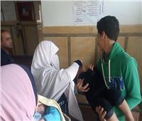 تطعيم 93.4% من الأطفال المستهدفون بمصل شلل الأطفال في شمال سيناء