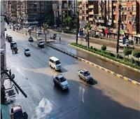 الحالة المرورية.. انتظام حركة السيارات بالقاهرة والجيزة