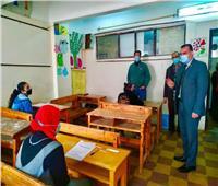 مدير «تعليم المنوفية» يتابع انتظام امتحانات الشهادة الإعدادية