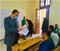 مدير تعليم المنوفية يتفقد انتظام امتحانات الشهادة الإعدادية