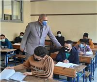 99 % نسبة حضور طلاب الشهادة الاعدادية في الامتحانات بدمياط